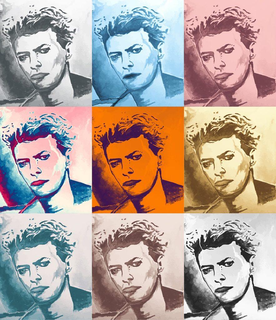David Bowie Zeichnung von SCAPIN / pixabay.com