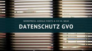 DSGVO 2018 - Datenschutz